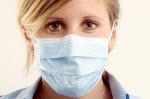 Swine Flu Mask Lady
